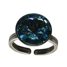 Konplott Ring Rivoli Blue Aquamarine